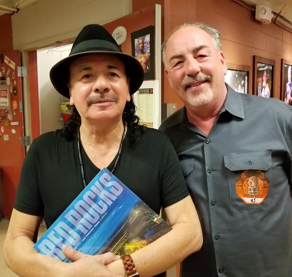 Carlos Santana and G. Brown