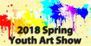 graphic for 2018 Youth Spring Art Show