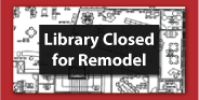 graphic for library closure news item
