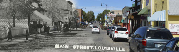 Historic Preservation, downtown Louisville 1915-2015