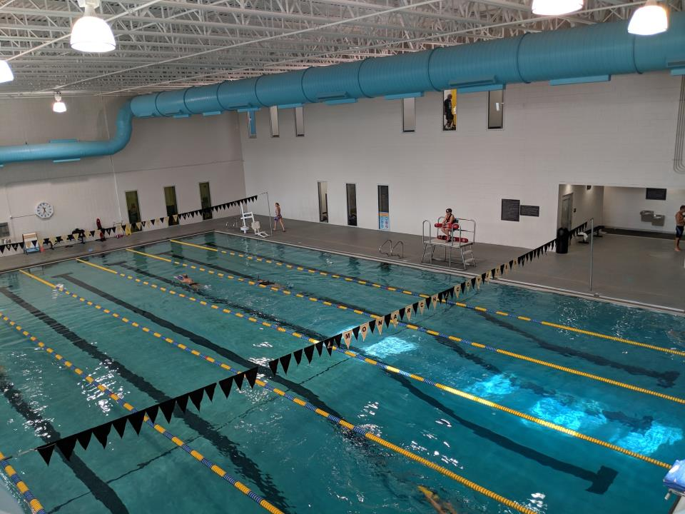 6 lane lap pool