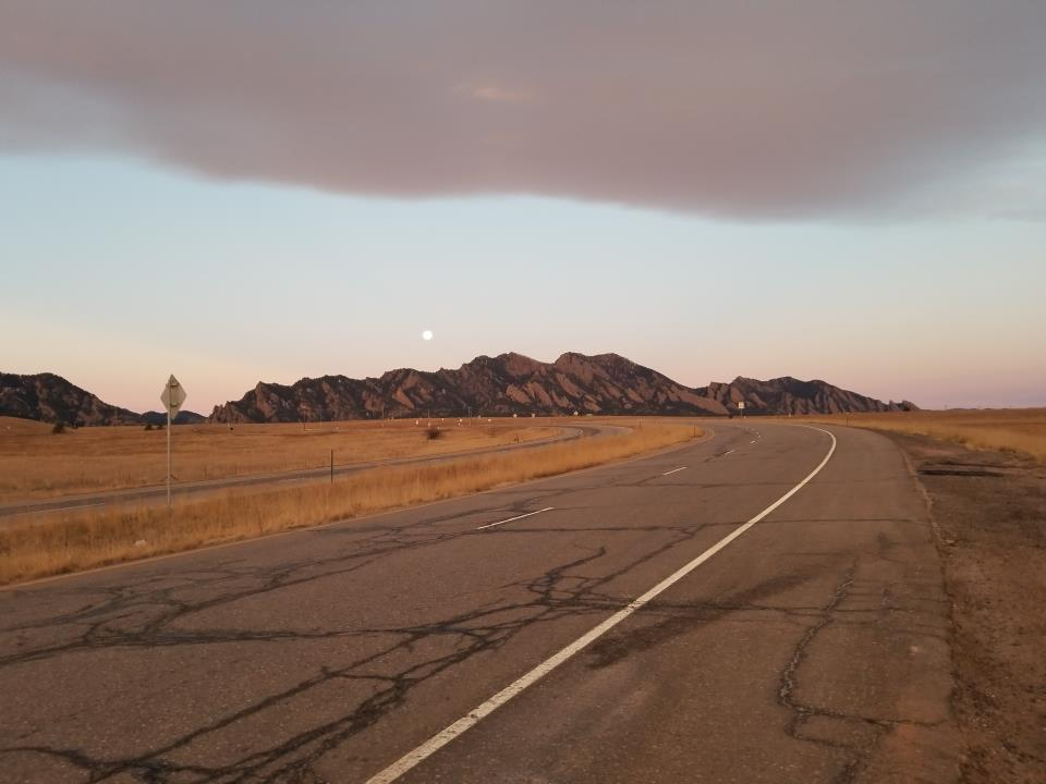 Petroff, Grace - On the Way to the Flatirons