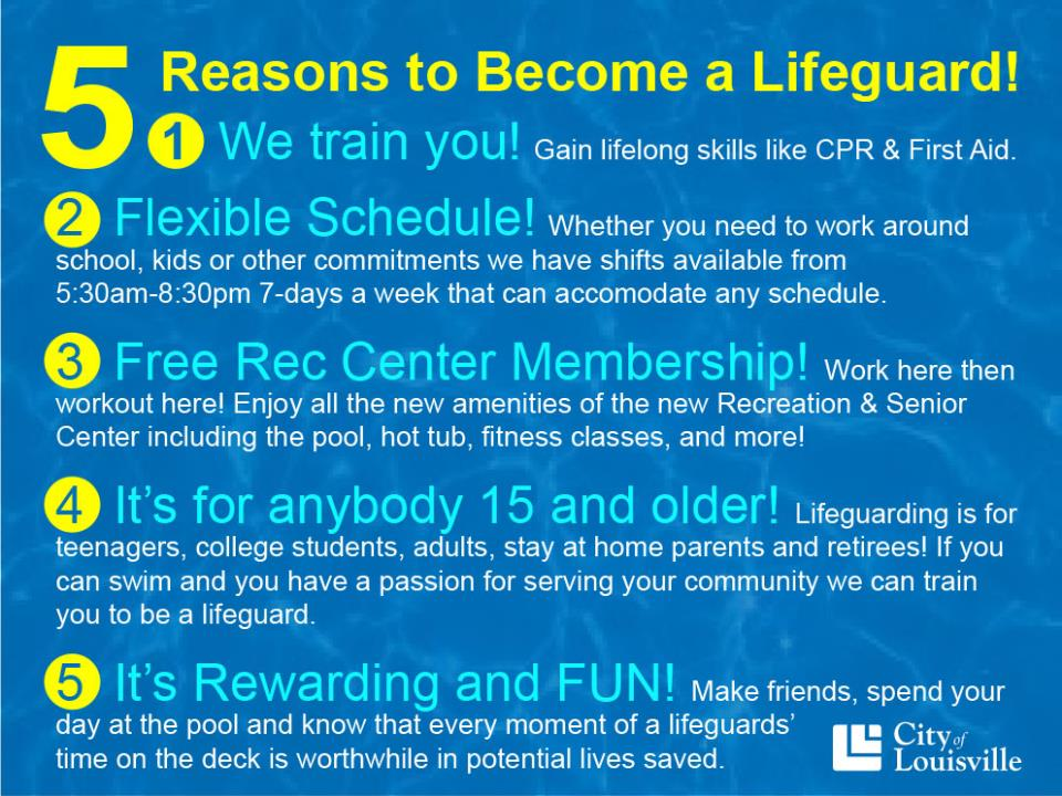 5 reasons to become a lifeguard