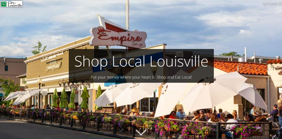 Louisville Shop Local story