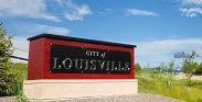 City Sign, City of Louisville