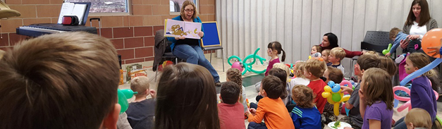 Story Time at Louisville Preschool