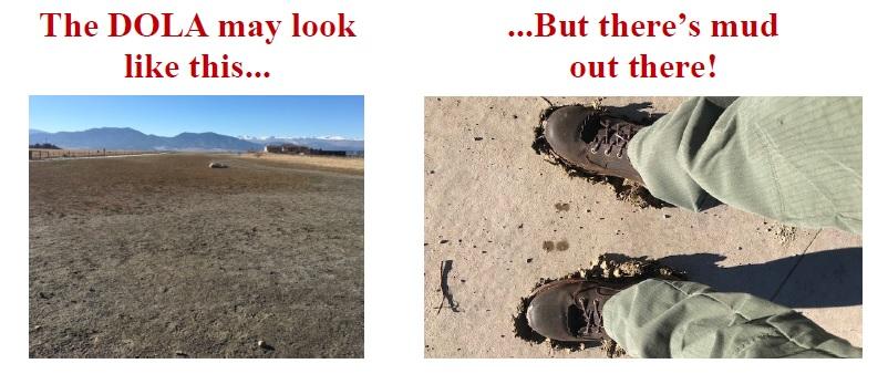 DOLA Mud Shots